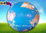 옥외 광고 명확한 지구 지도를 가진 팽창식 거대한 지구 공