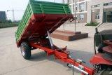Aanhangwagen van het Landbouwbedrijf van het Staal van het frame is de Materiële Geschikt voor Tractor 12-25HP op Hete Verkoop