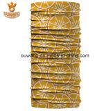 Regelmäßiger afrikanischer kundenspezifischer Firmenzeichen-Polyester Headtie Großhandelsbandana