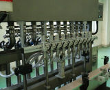 Tipo linear máquina de etiquetado líquida de la máquina de rellenar