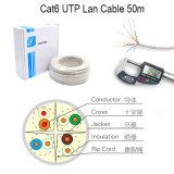 Wonterm UTP CAT6 cabo LAN 0.56mm Bc Passar Fluke