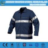 Camisas uniformes do franco do trabalho de pouco peso longo de Enjineering da luva para homens