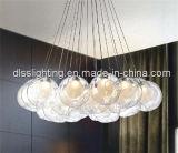 2017 luces pendientes suspendidas bola del contemporáneo LED del surtidor de China