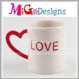 Canecas cerâmicas encantadoras do fornecedor do Manufactory com punho