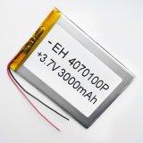 3.7V 3000mAh 4070100 Batterie rechargeable au lithium Li-Po polymère pour MP5 GPS PSP DVD E-book Tablet PC Mobile Phone Video Game