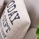 Almofada luxuosa de pátio de algodão para cama para limpeza de cama