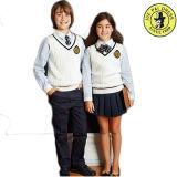 イギリスの小切手ファブリック学生服