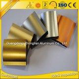 6063 Fabricación T5 chorro de arena de aluminio extrusionado de aluminio Formas Gabinete