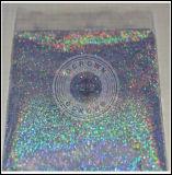 Plata holográfica láser brillante cromado Espejo de polvo de pigmento de arco iris