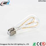 신제품 창조적인 심혼 연약한 필라멘트 LED 전구 E27