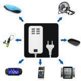 De EU het UK 6 USB 5V 3A 20W Multi Function Mobile Phone Travel Adapter USB Charger van de V.S.