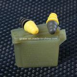 실리콘 육군 사용 귀마개 포장을%s 가진 방음 귀 플러그를 취소하는 소음