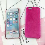 Preiswerter Preis-Samt-Pelz-Handy-Fall für iPhone 6 Fall