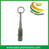 小型ビール瓶の整形懐中電燈LED Keychain