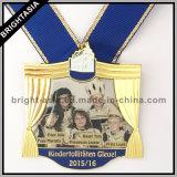 De Grote Medaille van de Legering van het Zink van de kwaliteit voor de Gift van de Bevordering (byh-10174)