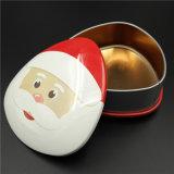 Biscotto del metallo di natale/contenitore di latta dello stagno regalo della caramella (T001S-V20)