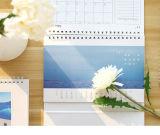Stampa del calendario di scrittorio dell'OEM, calendario di Gits, calendario promozionale