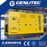 conjunto de generador diesel de poco ruido de Cummins del pabellón 350kVA