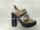 Simple Cool Sexy Talons hauts Fashion Snake Lady Sandals