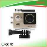 Vorgangs-Kamera Underwaterr 30m der Qualitäts-4k WiFi Gold