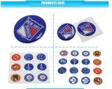 Epoxy Dome résine Label Les plus populaires Feuille personnalisée Papier synthétique Epoxy Glossy Cartoon Label for Child