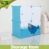 Speicherschrank-Kind-Plastikgroßhandelswandschrank-Organisator-Garderoben-Schrank