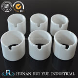 Parte di ceramica personalizzata di Zirconia di precisione di rendimento elevato con vita attiva lunga ed efficace costo