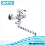 La porcelaine sanitaire seule poignée du robinet de cuisine murale JV70905