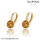 Падение серьги диаманта 27431 сбывания способа горячее в цвете золота 18k