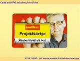 Cartão de garantia com a ressonância para uso doméstico