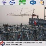 설치하게 쉬운 조립식 무거운 강철 구조물 산업 빌딩