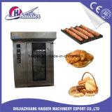 Oven van het Rek van de Machines van het Koekje van de Cake van het brood de In het groot Roterende voor Baksel