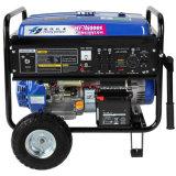 gerador elétrico da gasolina do começo de 5kw 50Hz