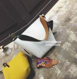 無地のショルダー・バッグの高品質PUの革ハンドバッグの中国の製造者Sy8134の販売
