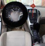 車のためのプラシ天のハンドルカバー