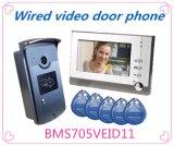 Многофункциональный телефон двери видео системы внутренней связи Поддержки ID Card