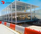 China fabricante de acero prefabricada paquete plano edificio de lujo casa contenedor