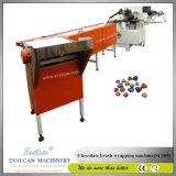 Machine d'emballage de papier d'aluminium de chocolat