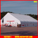 Urved Shape Fireproof Tentf Abricfor Outdoor Event Tents Warehouse Canopy in White