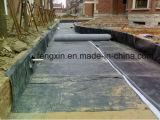 Ausgezeichnete Anpassungsfähigkeit HDPE Film HDPE Membrane für Tiefbautechnik