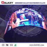 P2.98/P3.91/P4.81/P5.95 weicher LED Bildschirm mit dünner Karosserie, Leichtgewichtler, flexibles Merkmal