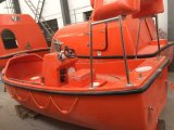 Solasの承認6-15人FRPは救助艇ダビットが付いている絶食する