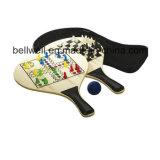 Ракетка тенниса выдвиженческих подарков деревянная для спортов пляжа