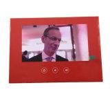 Brochure vidéo la moins chère / 4.3inch /5.0inch/7.0inch avec impression personnalisée