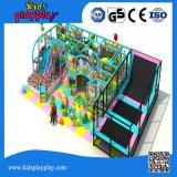 Спортивная площадка коммерчески детей Multi торгового центра функции крытая с большим Trampoline