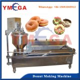 Long Servie Life De aço inoxidável Donut Shaping e máquina de fritar