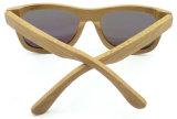 Fw17129 de In het groot Lens van het Bamboe van de Kwaliteit Houten Sunglass Gepolariseerde
