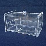 Personnaliser la boîte de présentation acrylique claire avec le blocage