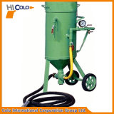 高圧移動式研摩の発破機械
