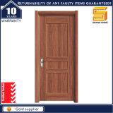 Placage en bois naturel PVC Mélamine Porte intérieure en bois
